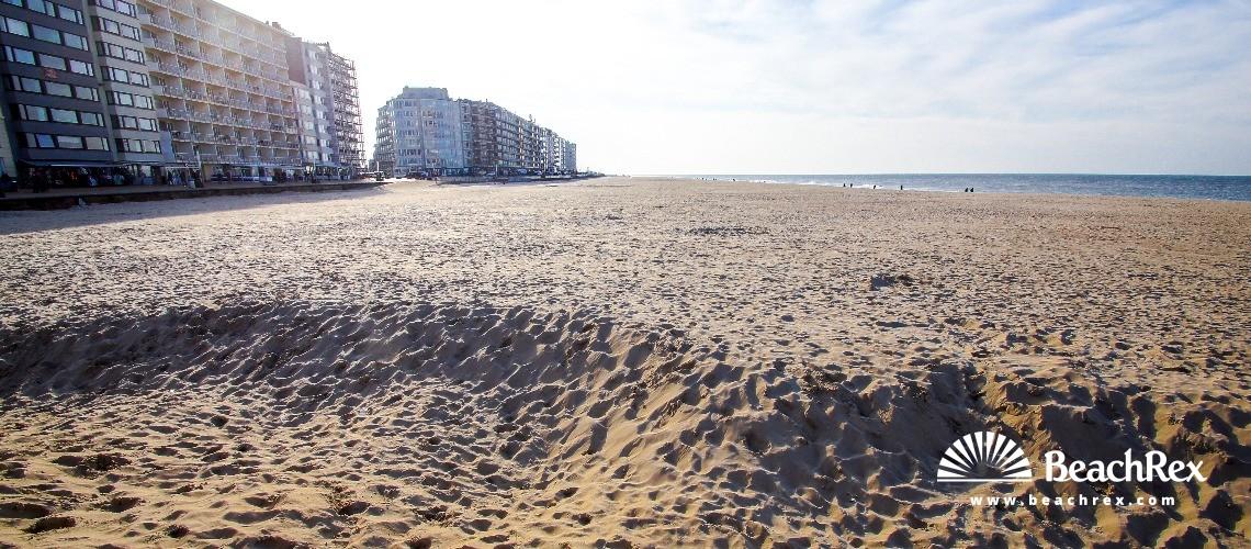 Belgium - WestVlaanderen -  Oostende - Strand Northlaan