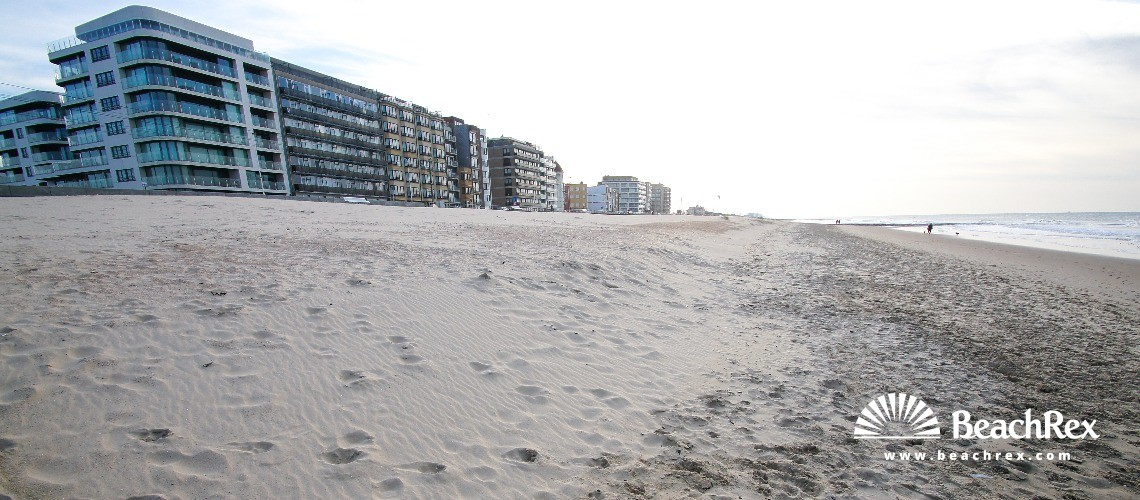 Belgium - WestVlaanderen -  Oostende - Strand Raversijde