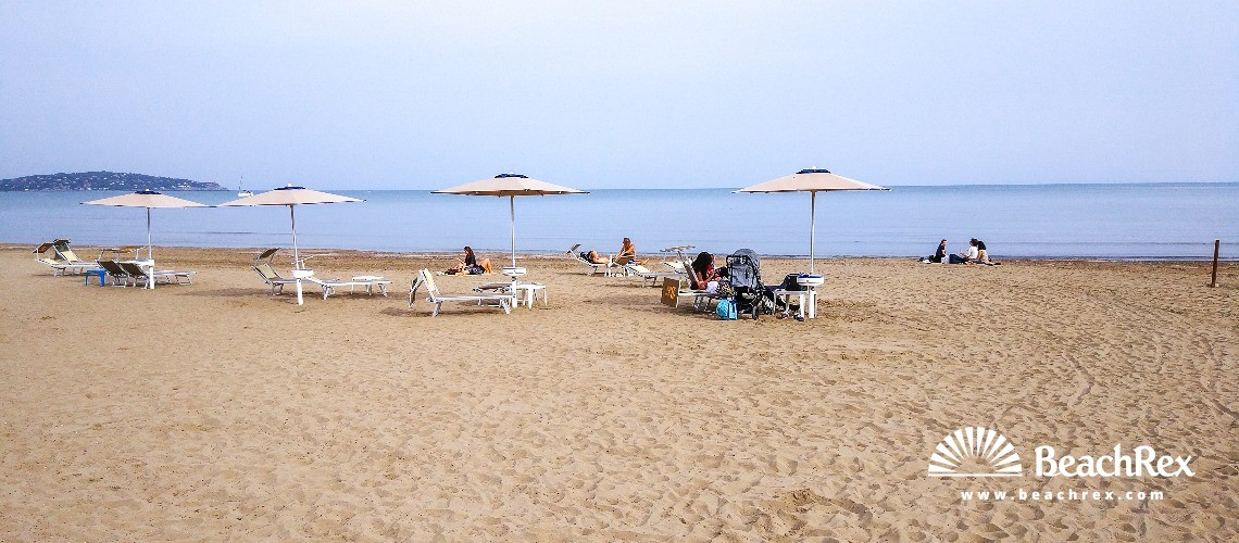 Italy - Toscana -  Orbetello - Beach Feniglia