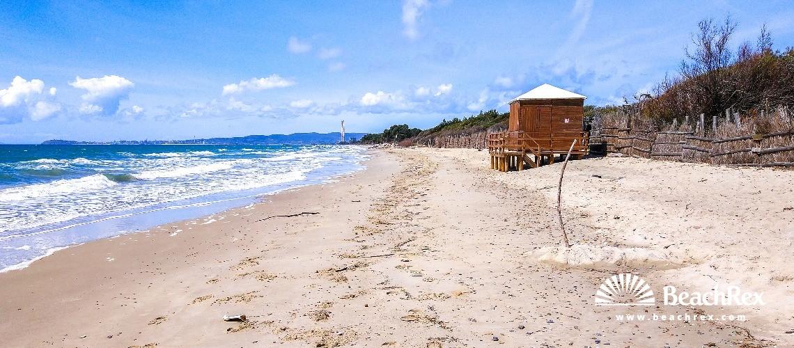 Italy - Toscana -  Piombino - Beach Mortelliccio