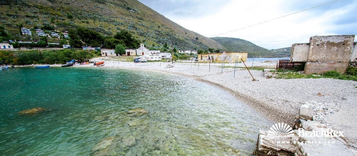 Albania - Vlorë -  Porto Palermo - Plazhi Porto Palermos 2