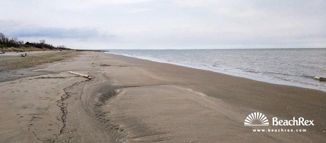 Italy - Veneto -  Porto Tolle - Beach Boccasette