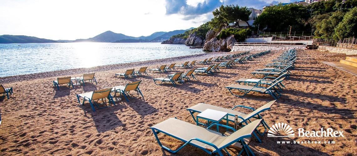 Montenegro - Budva -  Pržno - Beach Pržno
