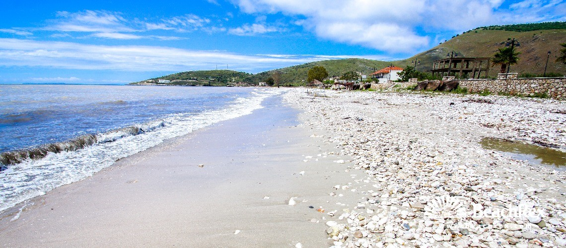 Albania - Vlorë -  Qeparo - Plazhi Qeparo