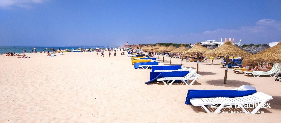 Portugal - Algarve -  Quarteira - Praia da Rocha Baixinha Nascente
