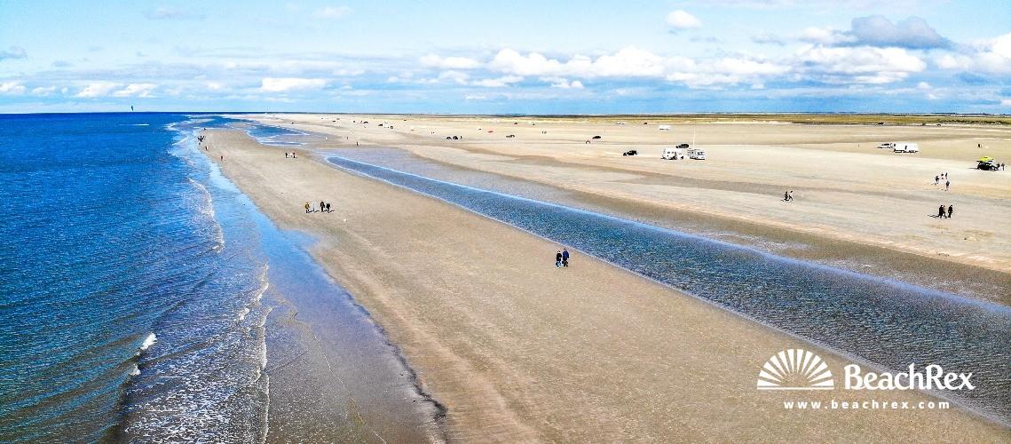 Denmark - Syddanmark - Rømø -  Rømø - Strand Lakolk