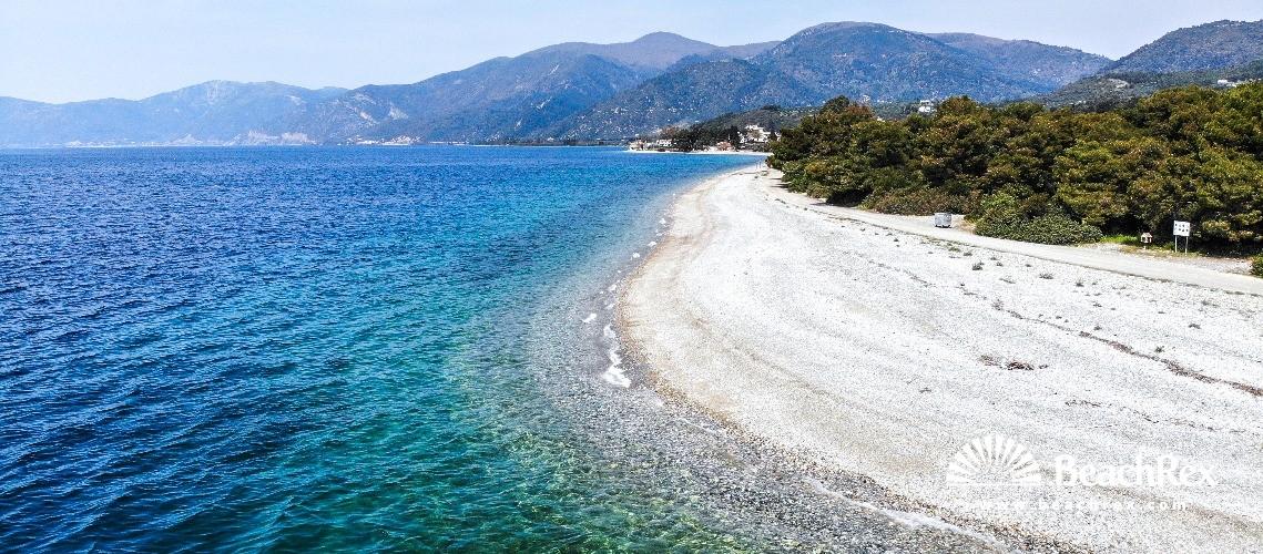 Greece - Sterea Ellada - Euboea -  Rovies - Paralia Rovies