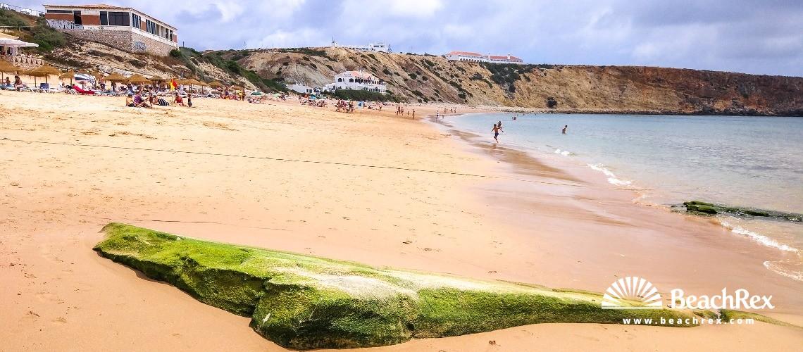 Portugal - Algarve -  Sagres - Praia da Mareta