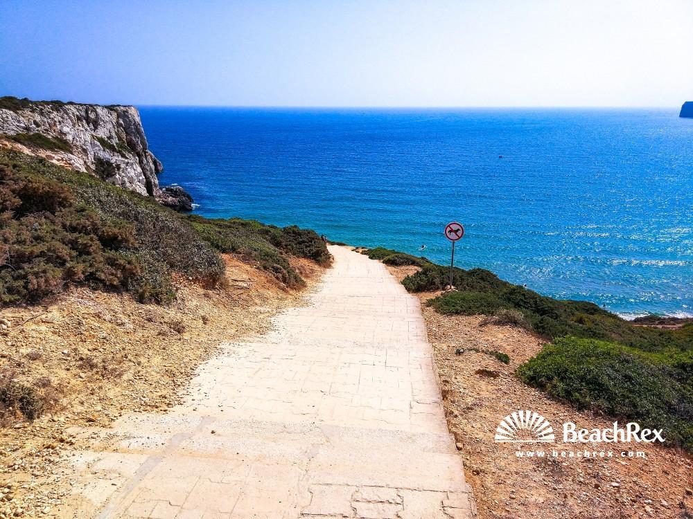 Portugal - Algarve -  Sagres - Praia do Beliche