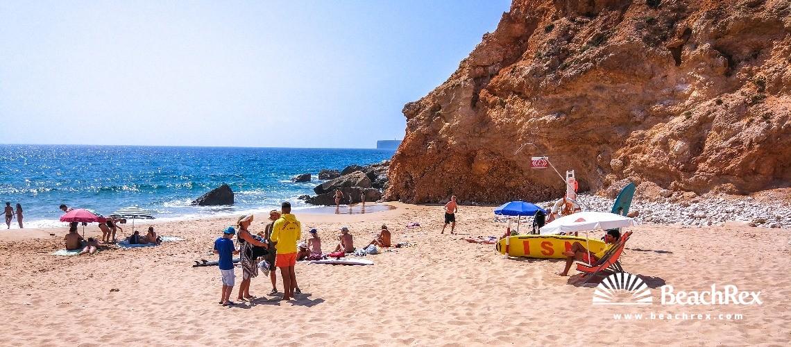 Portugal - Algarve -  Sagres - Praia do Tonel