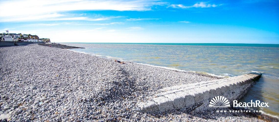 France - Normandie -  Saint-Aubin-sur-Mer - Plage de St Aubin sur Mer