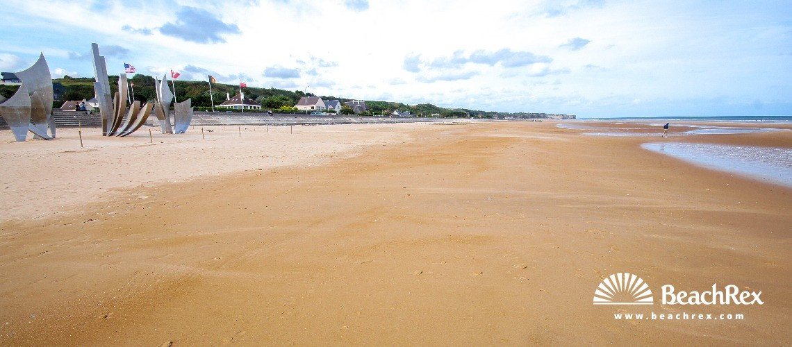 France - Normandie -  Saint-Laurent-sur-Mer - Plage Omaha beach
