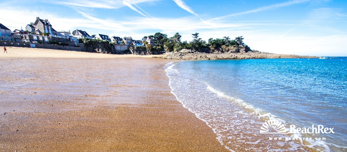 France - Bretagne -  Saint-Malo - Plage du val