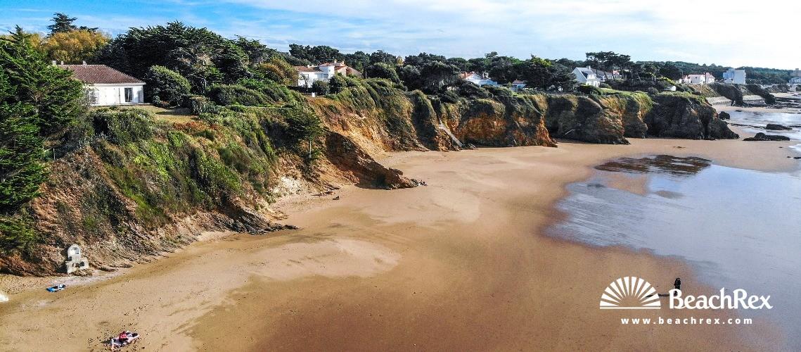 France - Pays de la Loire -  Saint-Michel-Chef-Chef - Plage De Gibraltar