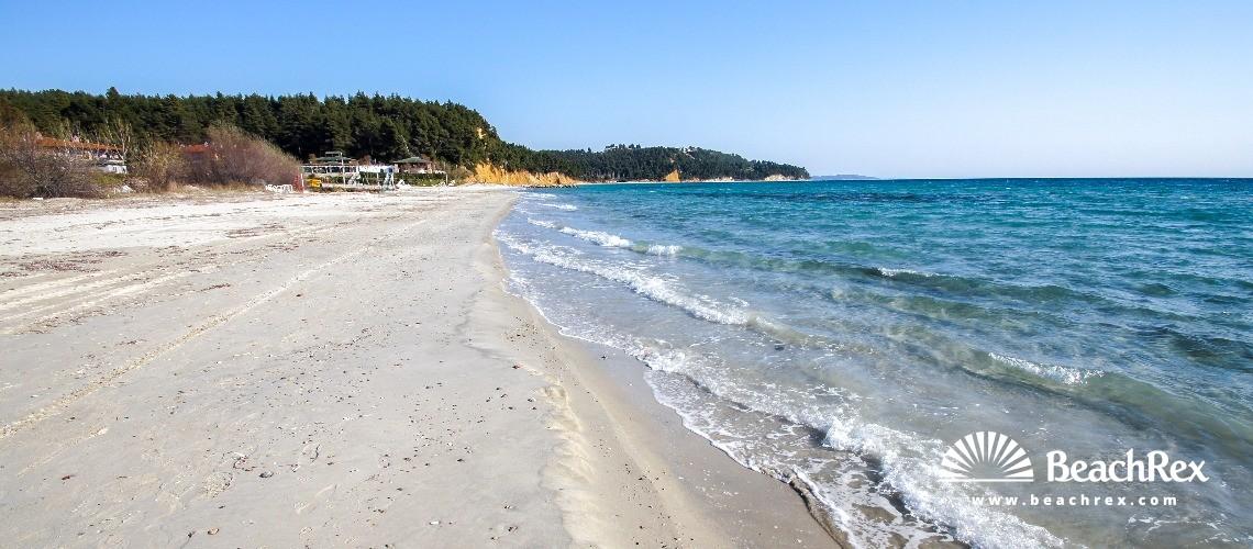 Greece - Kentriki Makedonia -  Sane - Paralia Simántrou