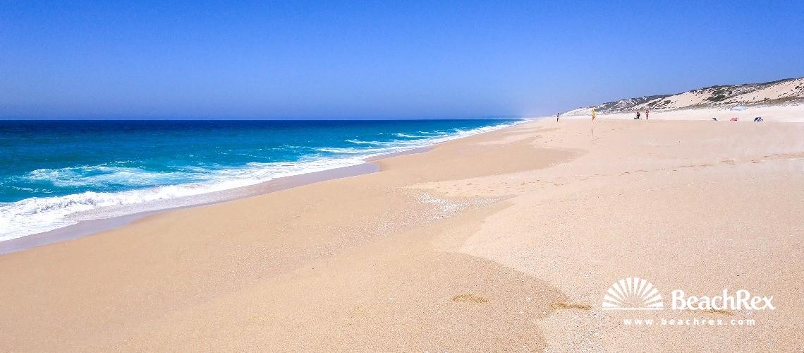 Portugal - Setubal -  Santiago do Cacém - Praia da Fonte do Cortiço