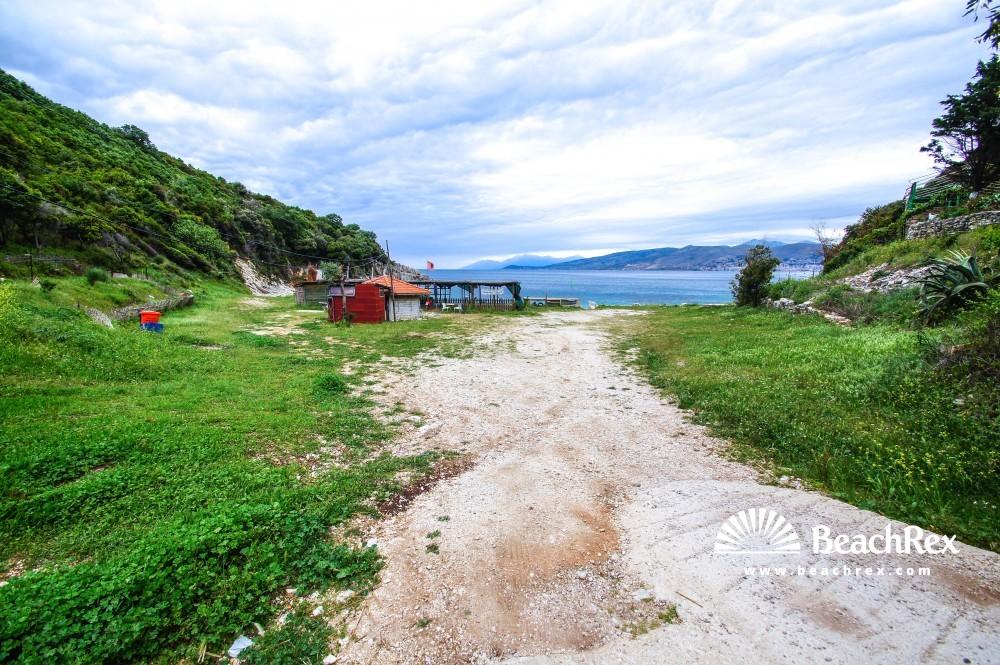 Albania - Vlorë -  Sarandë - Plazhi i Manastirit
