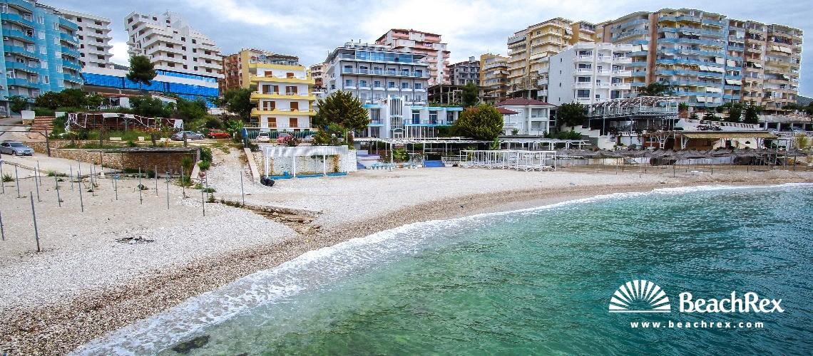 Albania - Vlorë -  Sarandë - Plazhi Sarandë 2