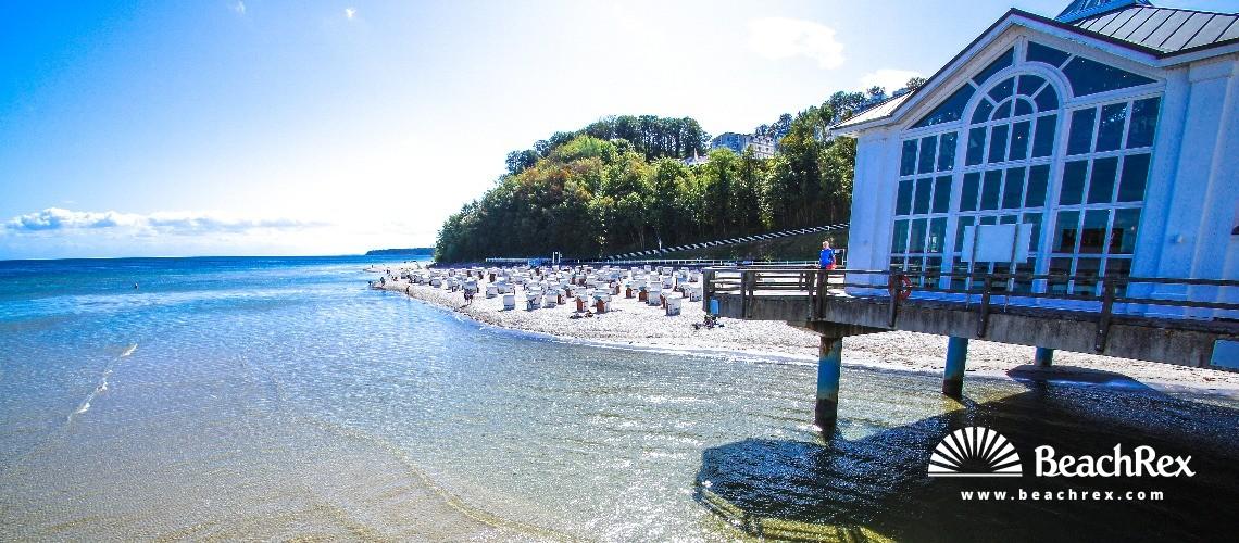 Germany - MecklenburgVorpommern - Rügen -  Sellin - Strand Sellin