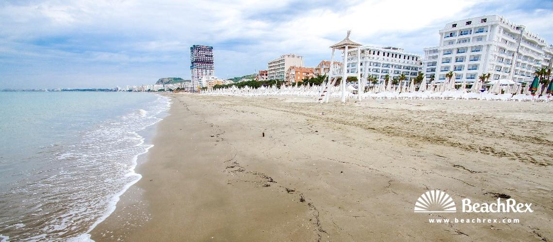 Albania - Tiranë -  Shkëmbi i Kavajës - Plazhi Shkëmbi i Kavajës