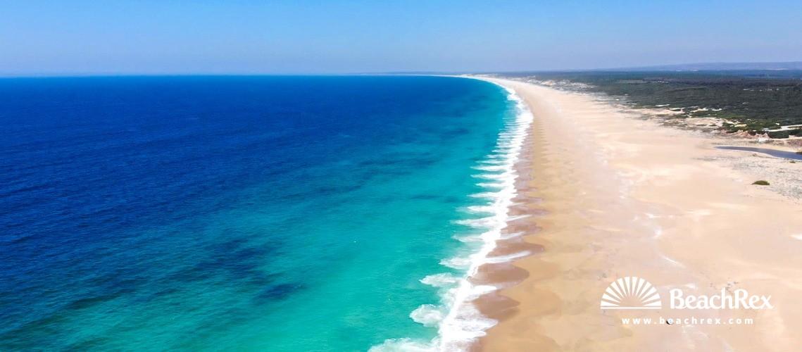 Portugal - Setubal -  Sines - Praia da Costa do Norte