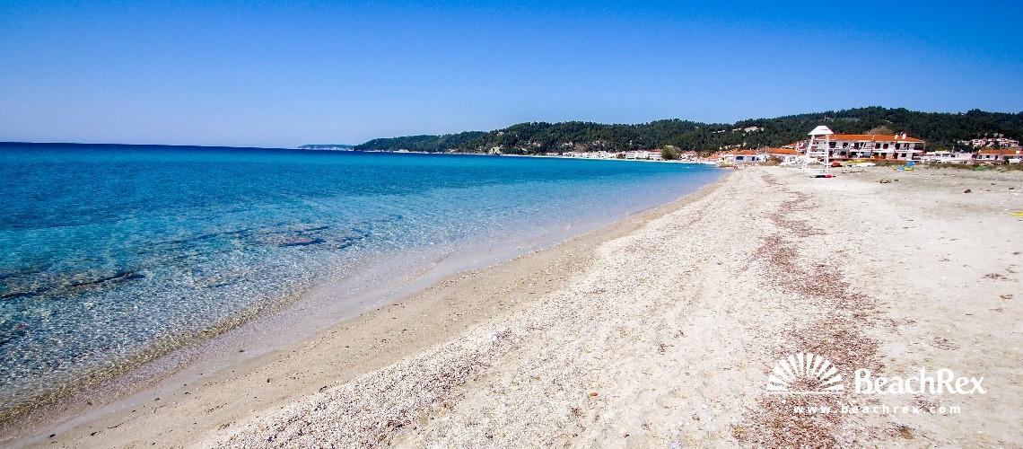 Greece - Kentriki Makedonia -  Skala Fourkas - Paralia Skala Fourkas