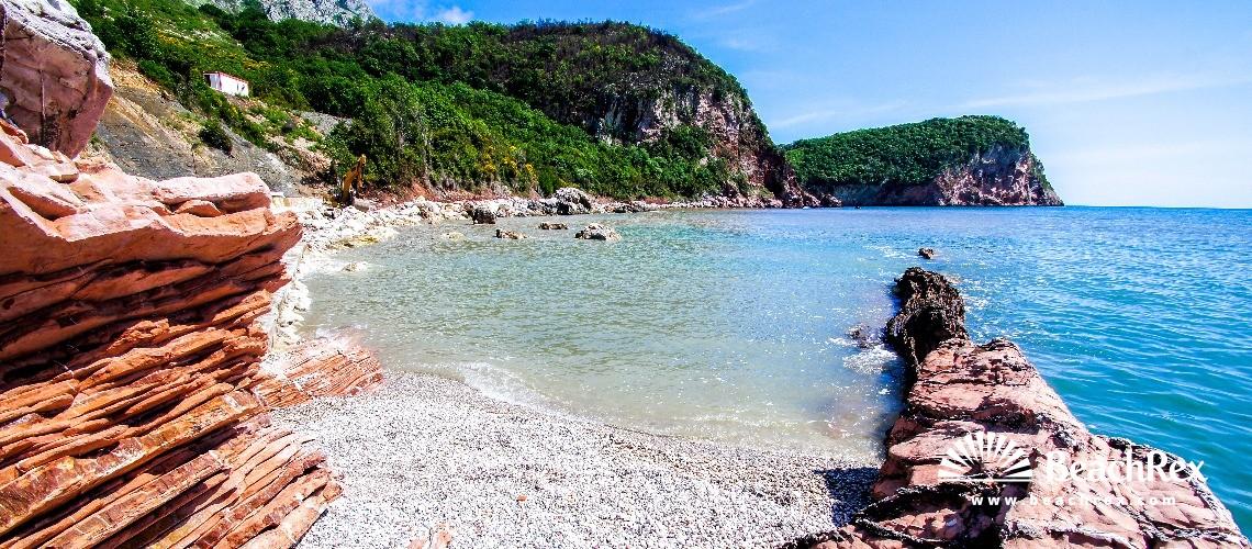 Montenegro - Budva -  Sveti Stefan - Beach Crvena Glavica