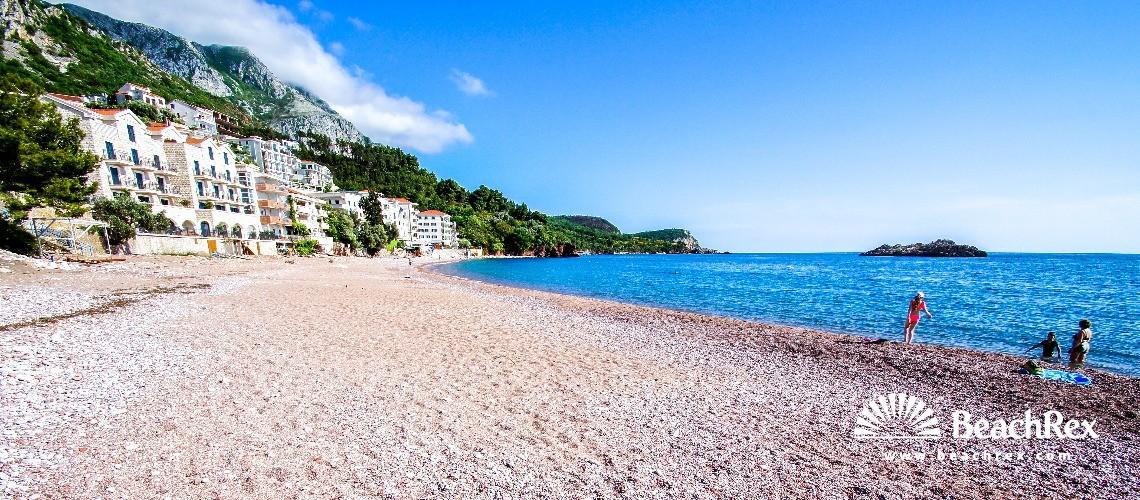 Montenegro - Budva -  Sveti Stefan - Beach Sveti Stefan