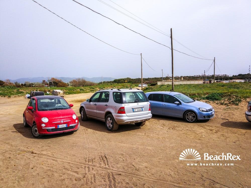 Italy - Lazio -  Tarquinia - Beach Sant'Agostino