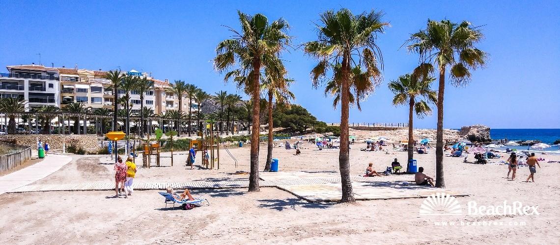 Spain - Valencia -  Teulada - Platja del l'Ampolla