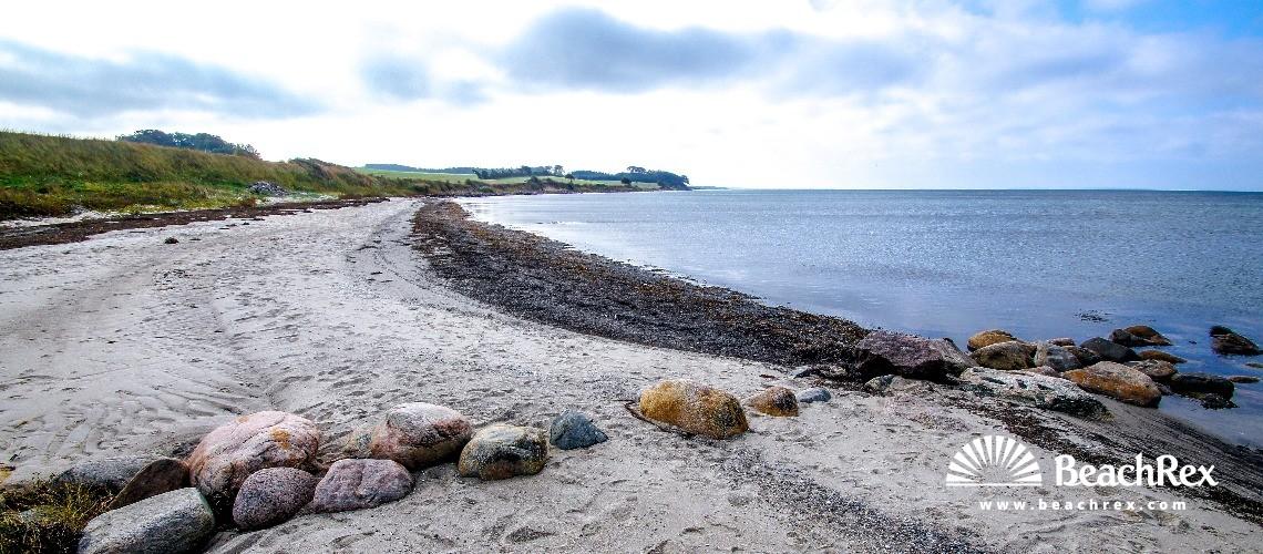 Denmark - Syddanmark - Langeland -  Tranekær - Strand Dageløkke