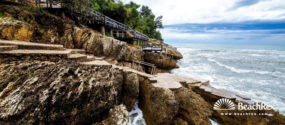 Montenegro - Ulcinj -  Ulcinj - Beach Ženska