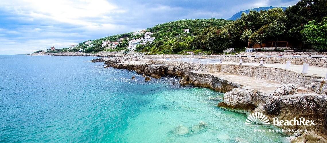 Montenegro - Bar -  Utjeha - Beach Rocky