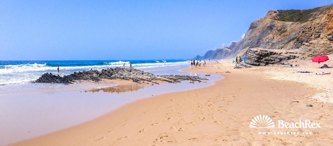 Portugal - Algarve -  Vila do Bispo - Praia da Cordoama