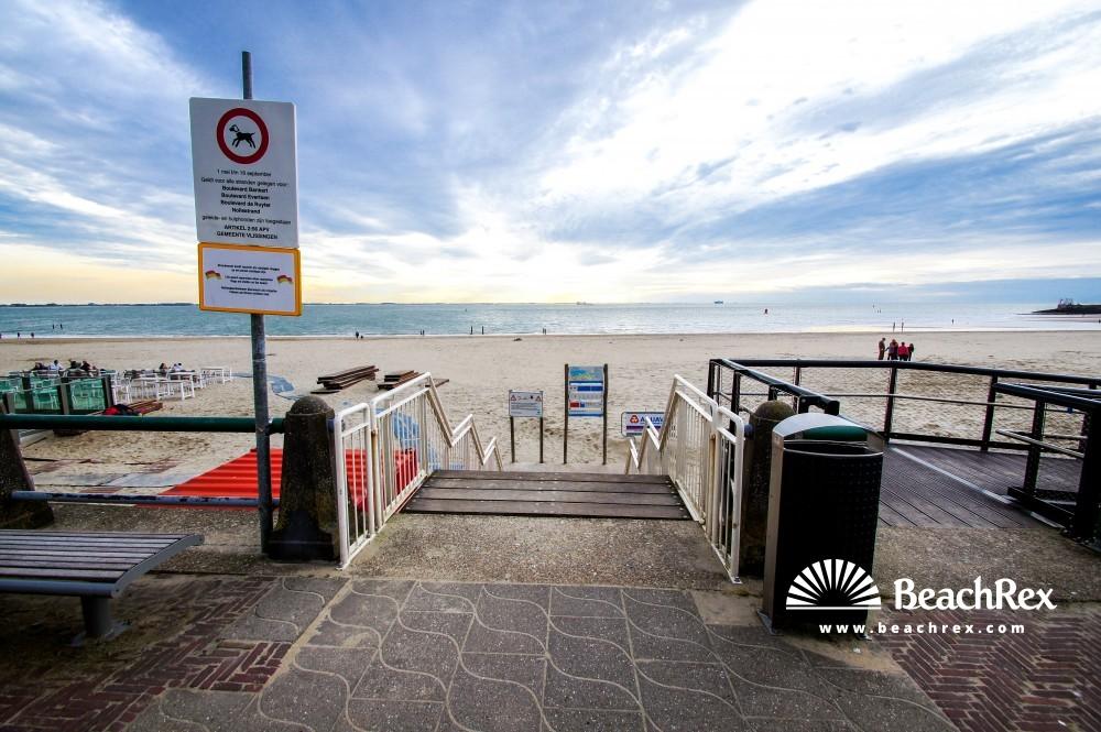 Netherlands - Zeeland -  Vlissingen - Strand Vlissingen