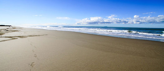 Sand beaches